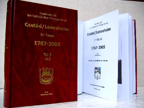 Das Familienbuch Csatád/Lenauheim