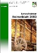 Lenauheimer Heimatblatt 2003